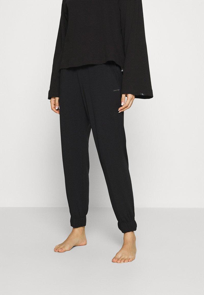 Calvin Klein Underwear - PERFECTLY FIT FLEX JOGGER - Pyjama bottoms - black