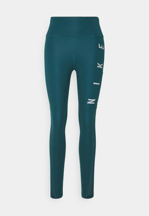 RUN EPIC FAST - Medias - dark teal green/silver