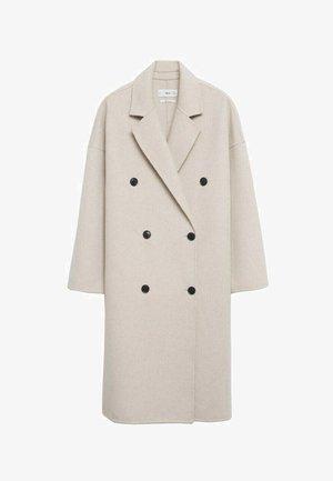 Klasyczny płaszcz - steenkleur