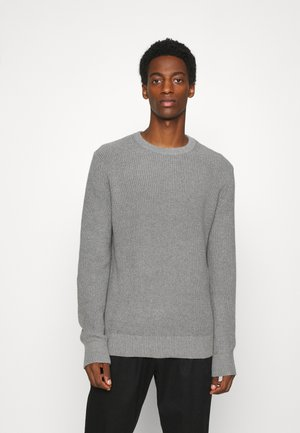 SHAKER CREW - Jumper - heather grey