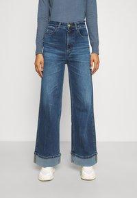LOIS Jeans - RACHEL TURN - Straight leg jeans - vintage stone replica - 0