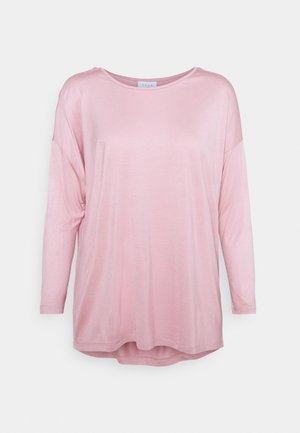 VISCOOP ONECK - Long sleeved top - pale mauve