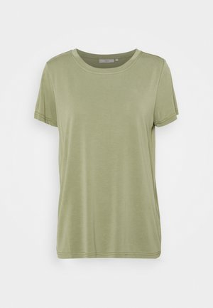 RYNAH - Basic T-shirt - oil green