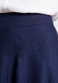 Esprit Collection - SOLID - A-line skirt - navy - 4