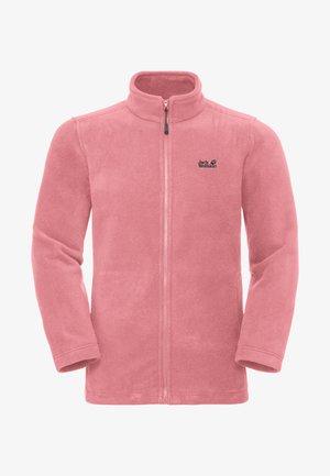 Fleece jacket - rose quartz