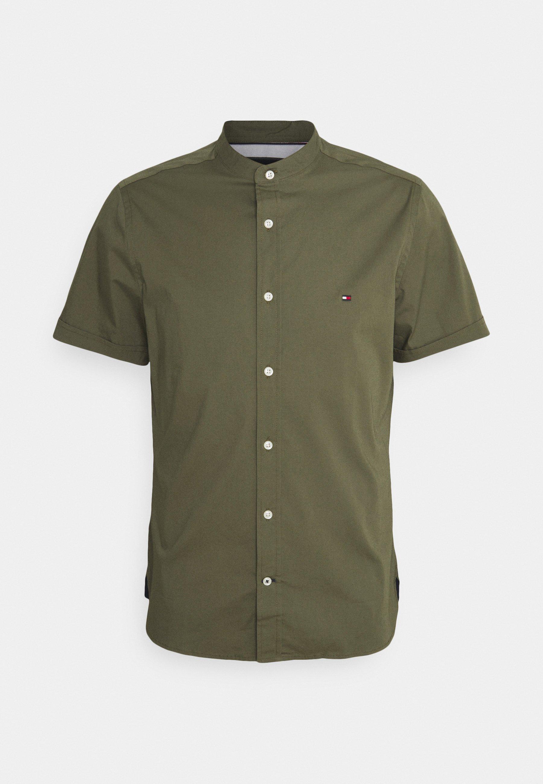 Uomo SLIM STRETCH MANDARIN SHIRT - Camicia