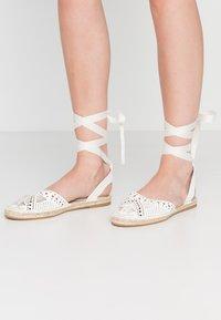 Miss Selfridge - LIBRA  - Loafers - white - 0