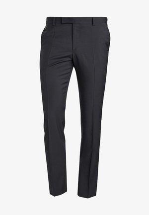 RYAN - Suit trousers - schwarz