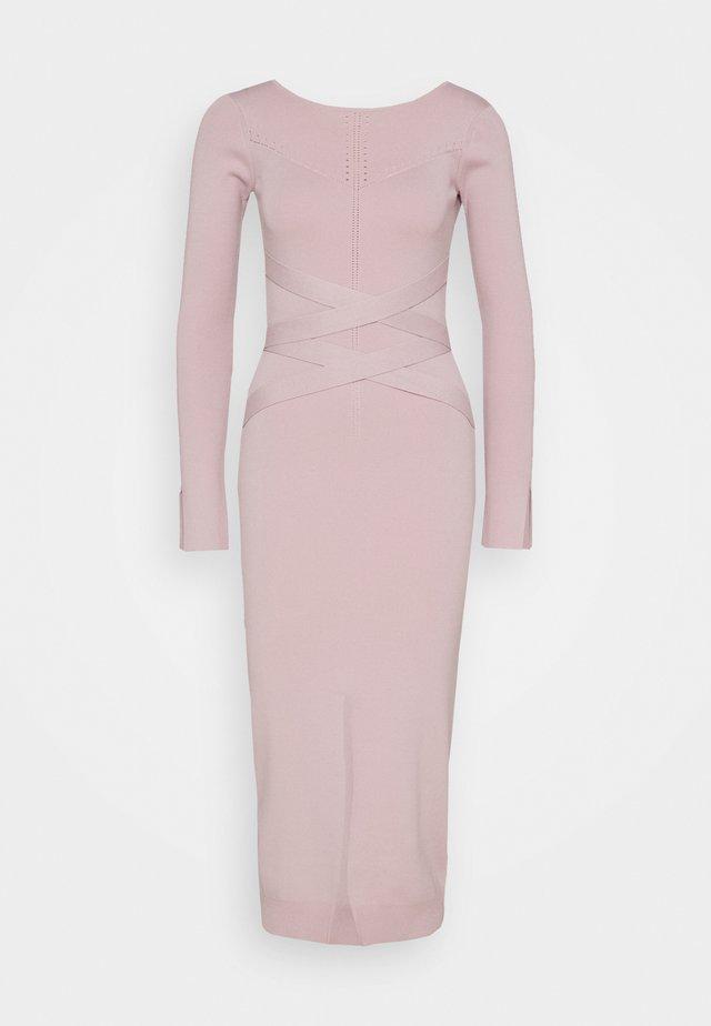 BONDAGE DRESS - Shift dress - lilac tulle