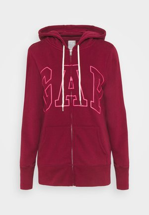 EASY - Zip-up hoodie - garnet