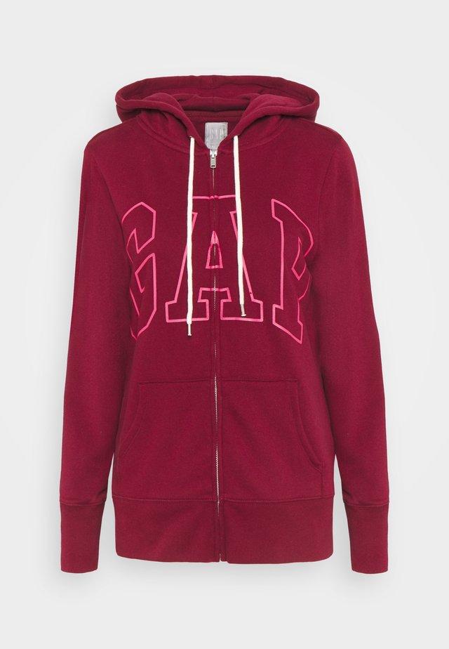 EASY - Zip-up hoodie - garnet