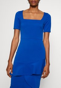 True Violet - FRILL LAYER DRESS WITH SQUARE NECK - Occasion wear - blue - 4