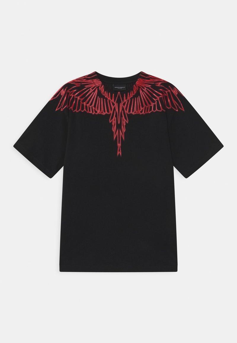 Marcelo Burlon - WINGS RED - Print T-shirt - nero