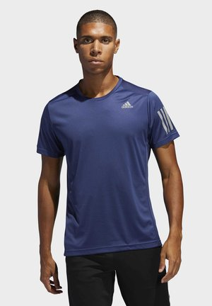 OWN THE RUN T-SHIRT - T-shirt con stampa - blue