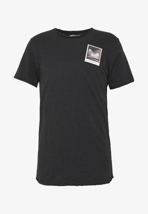 JORPANAX TEE CREW NECK  - Print T-shirt - black