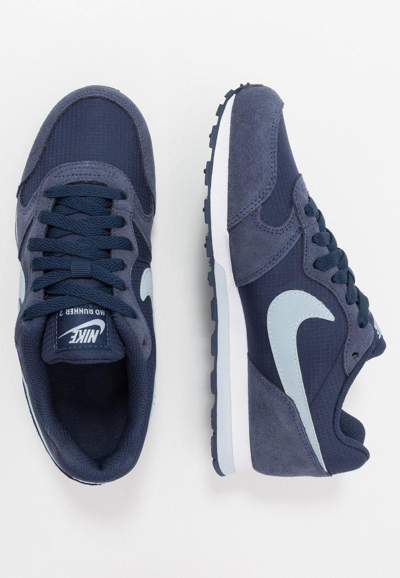 Nike Sportswear - MD RUNNER 2 PE  - Tenisky - midnight navy/light armory blue