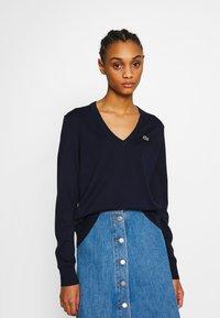 Lacoste - AF5475 - Sweater - navy blue - 0