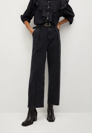MACA - Jean droit - black denim