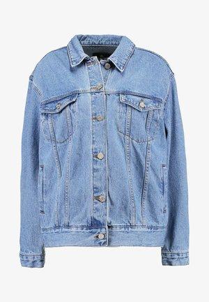 OVERSIZED JACKET - Kurtka jeansowa - stonewash