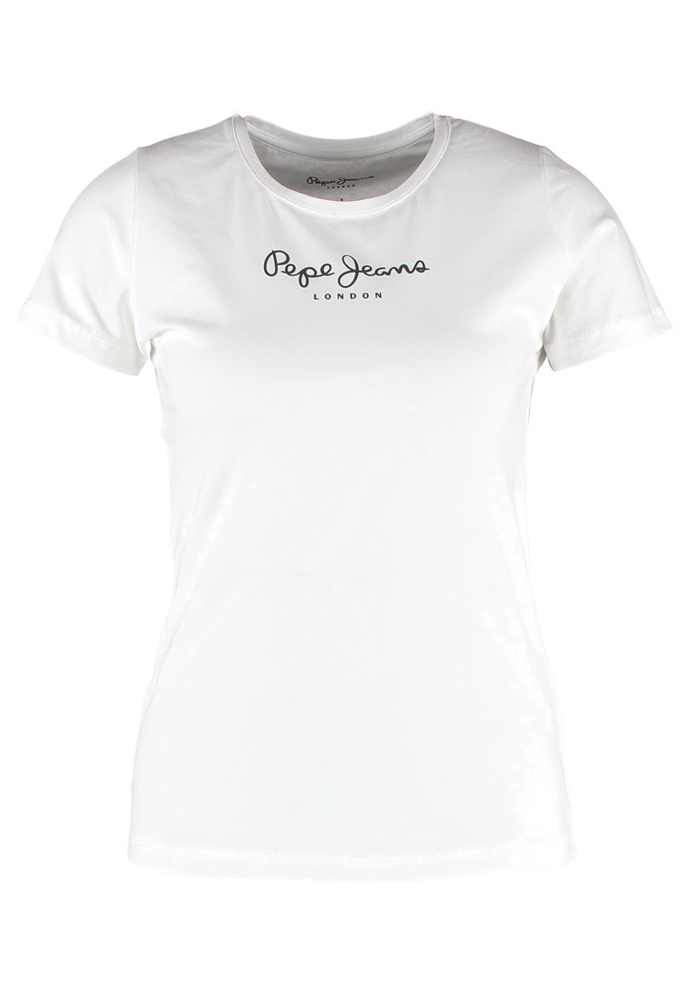 Pepe Jeans NEW VIRGINIA - T-shirts med print - black