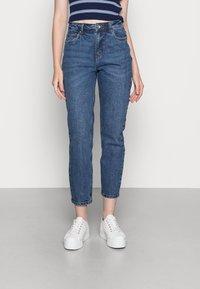 Vero Moda - VMBRENDA  - Straight leg jeans - dark blue denim - 0