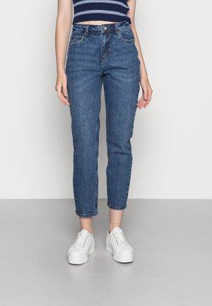 VMBRENDA  - Straight leg jeans - dark blue denim