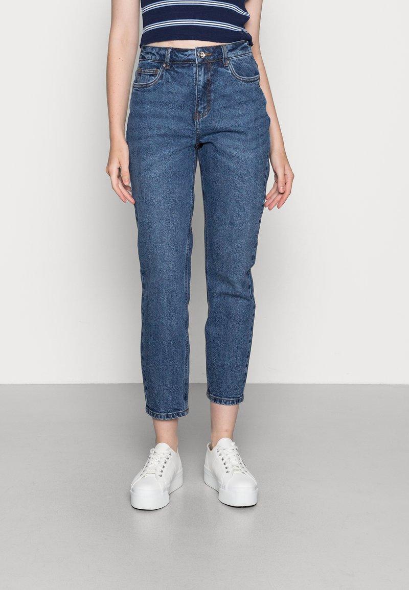 Vero Moda - VMBRENDA  - Straight leg jeans - dark blue denim