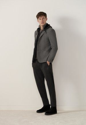 MODERN FIT - Blazer jacket - grau