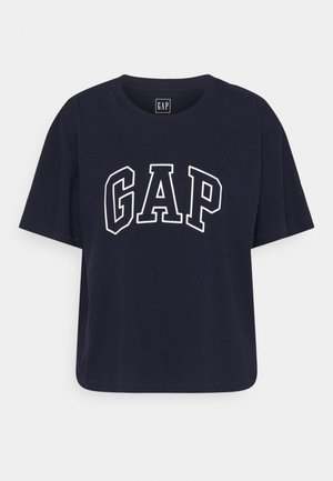 EASY TEE - Print T-shirt - navy uniform