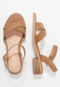 Office Wide Fit - MEASURE WIDE FIT  - Sandals - tan - 3