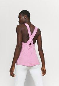 Nike Performance - DRY ELASTIKA TANK - Sports shirt - beyond pink/white - 2