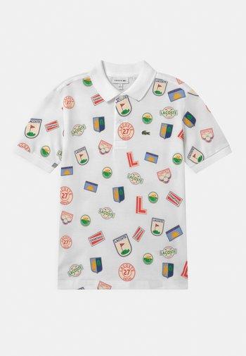 Polo shirt - white/multicolour