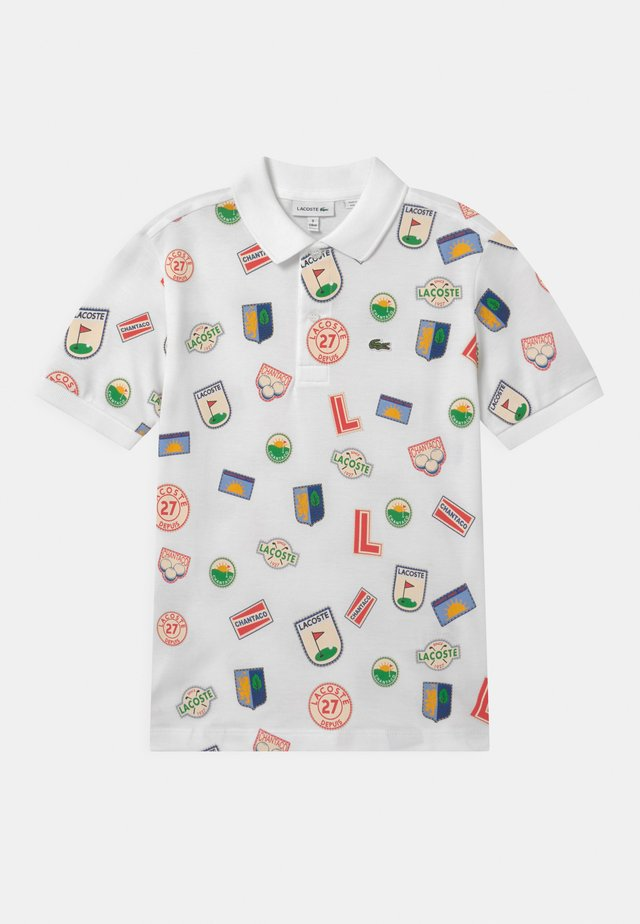 Polo shirt - white/multicolour