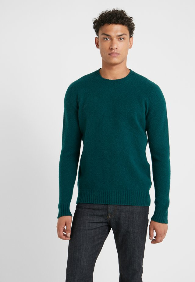 GIROCOLLO GARZATO - Jumper - green