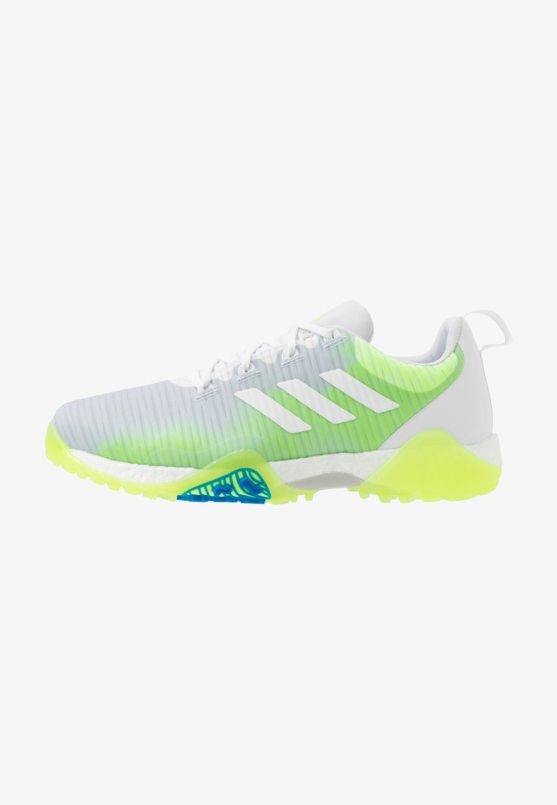 adidas Golf - CODECHAOS - Golfové boty - footwear white/signal green/glory blue