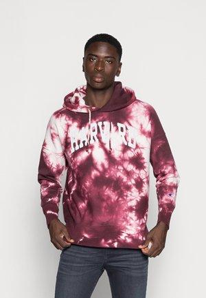HOODED - Sweatshirt - dark red