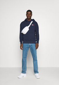 Tommy Jeans - BADGE HOODIE - Hoodie - twilight navy - 1
