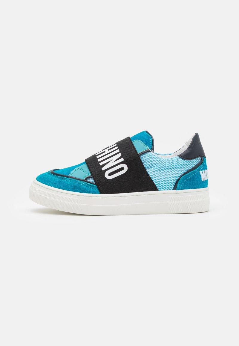 MOSCHINO - UNISEX - Nazouvací boty - blue