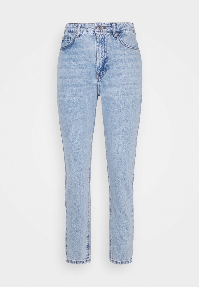 Gina Tricot Petite - DAGNY MOM - Slim fit jeans - light blue