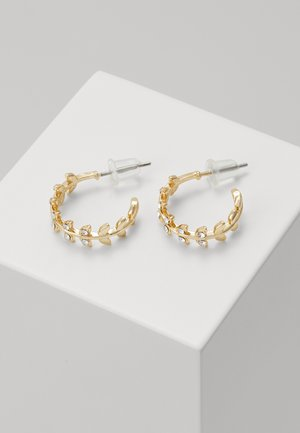 MINNA SMALL RING BRANCH - Earrings - gold-coloured/clear