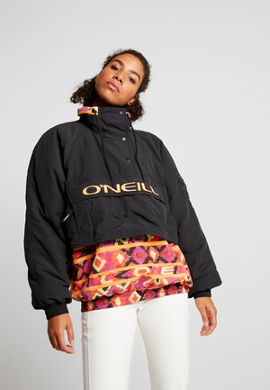 FROZEN WAVE ANORAK - Snowboardjacke - black out