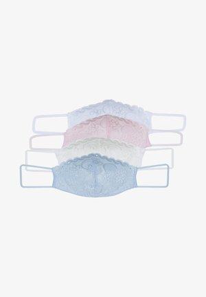 4 PACK - Stoffen mondkapje - multi-coloured