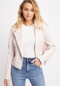 Kookai - Leather jacket - pink - 0