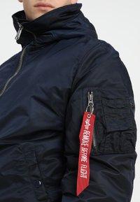 Alpha Industries - HOODED STANDART FIT - Light jacket - rep blue - 5