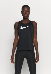 Nike Performance - RUN TANK - Top - black/silver - 0