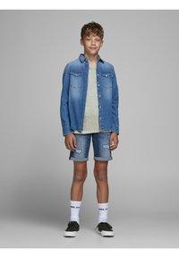 Jack & Jones Junior - Print T-shirt - drizzle - 1