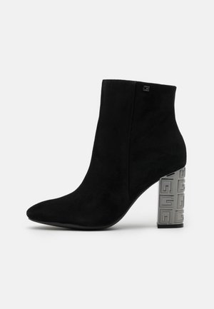 LARIAH - High heeled ankle boots - black