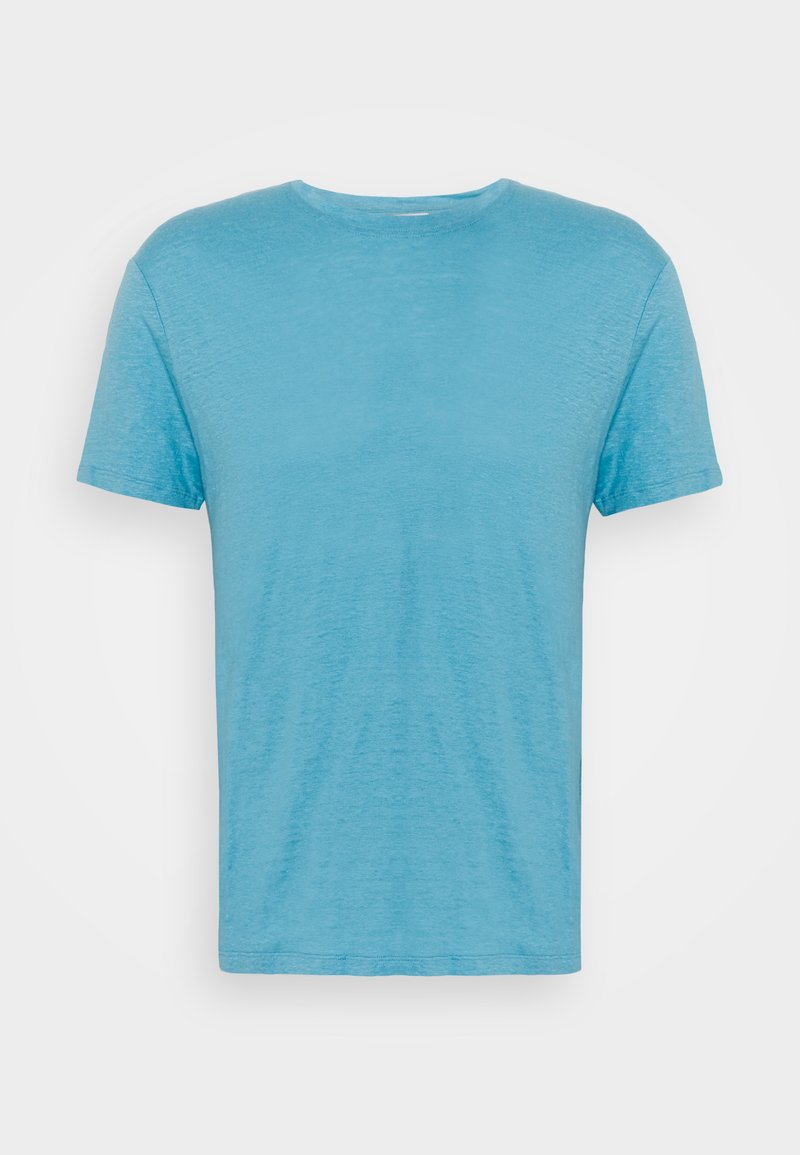 sandro - CLASH TEE - Jednoduché triko - bleu pastel