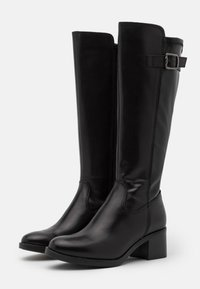 Tamaris - BOOTS - Vysoká obuv - black - 2