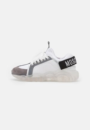 Baskets basses - bianco/grigio